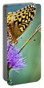 Butterfly Beauty And Little Friend Portable Battery Charger