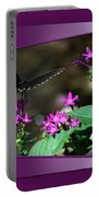 Butterfly Black 16 By 20 Portable Battery Charger