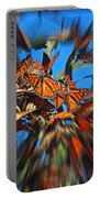 Butterfly Blast Portable Battery Charger