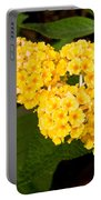 Butterfly Bush Flower Portable Battery Charger