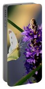 Butterfly - Cabbage White Portable Battery Charger