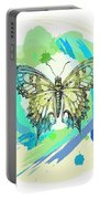 Butterfly Circles-jp2377 Portable Battery Charger