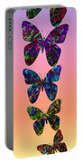 Butterfly Collage IIII Portable Battery Charger