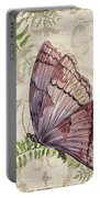 Butterfly Daydreams-b Portable Battery Charger