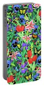 Butterfly Garden Portable Battery Charger