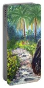Butterfly Garden At Gumbo Limbo Portable Battery Charger