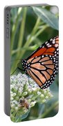Butterfly Garden - Monarchs 07 Portable Battery Charger