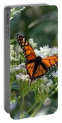 Butterfly Garden - Monarchs 09 Portable Battery Charger