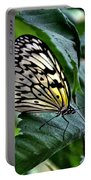 Butterfly - Green Leaf Portable Battery Charger