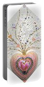 Butterfly-heart Portable Battery Charger