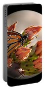 Butterfly In A Globe Portable Battery Charger