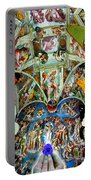Butterfly In Cappella Sistina Sistinechapel Portable Battery Charger