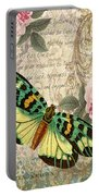 Butterfly Kisses-b Portable Battery Charger