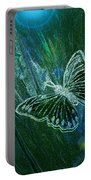 Butterfly Magic By Jrr Portable Battery Charger