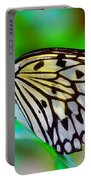 Butterfly On A Leaf Portable Battery Charger
