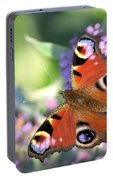 Butterfly On Buddleia Portable Battery Charger