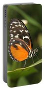 Butterfly On Leaf Portable Battery Charger