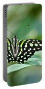 Butterfly Resting Color Portable Battery Charger