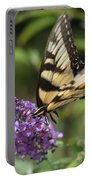 Butterfly Sucking On Some Pollen Portable Battery Charger