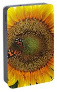Butterfly Sunflower Portable Battery Charger