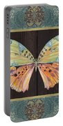 Butterfly Tapsetry-jp2197 Portable Battery Charger
