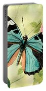 Butterfly Visions-b Portable Battery Charger