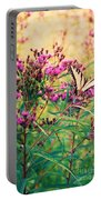Butterfly Wildflower Portable Battery Charger