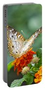 Butterfly Wings Of Sun 2 Portable Battery Charger by Thomas Woolworth