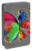 Butterfly World Map 2 Portable Battery Charger