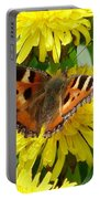 Butterfly Yellow Portable Battery Charger