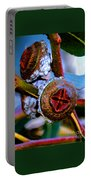 Pacific Northwest Washington Button Seed Pod Portable Battery Charger
