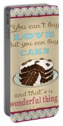 Buy Cake Typography Portable Battery Charger