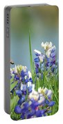 Buzzing The Bluebonnets 01 Portable Battery Charger
