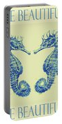 by the beautiful sea II Portable Battery Charger by Jane Schnetlage