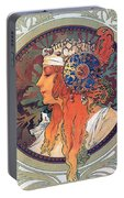 Byzantine Head The Blonde Portable Battery Charger