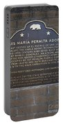 Ca-866 Luis Maria Peralta Adobe Portable Battery Charger