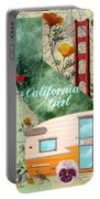 Ca Girl  Portable Battery Charger