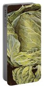 Cabbage Still Life Portable Battery Charger