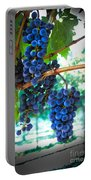 Cabernet Sauvignon Grapes Portable Battery Charger by Robert Bales