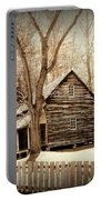 Cabin In Cades Cove Portable Battery Charger