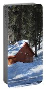 Cabin On Grand Mesa Co Portable Battery Charger