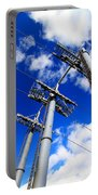 Cable Car Pillars Portable Battery Charger