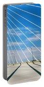 Cable-stayed Bridge, Arthur Ravenel Jr Portable Battery Charger