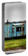 Caboose On A Farm Portable Battery Charger