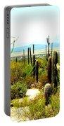 Cacti Garden Portable Battery Charger