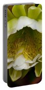Cactus Flower 1 Portable Battery Charger