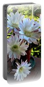 Cactus Flower Perfection Portable Battery Charger