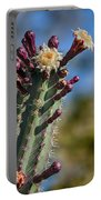 Cactus In Bloom Portable Battery Charger