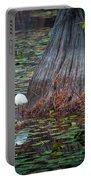 Caddo Lake Egret Portable Battery Charger