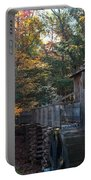 Cades Cove Mill Portable Battery Charger by Steve Gadomski